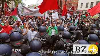 Nahost-Konflikt: Anti-Israel-Demos: Vizekanzler Scholz verurteilt Judenhass
