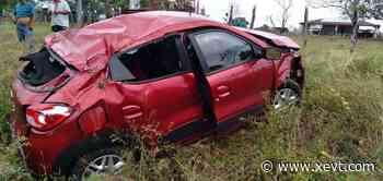 Automovilista pierde el control y sufre accidente en la Villahermosa-Macuspana - XeVT