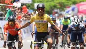 Ganó el embalaje en Paz de Ariporo: Nelson Soto en etapa 1 de Vuelta a Colombia [VIDEO] - Diario del Sur
