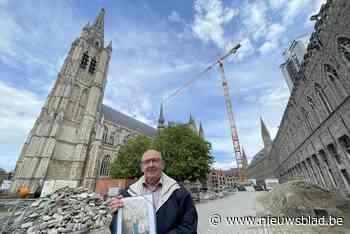 Brengen graafwerken op Iepers plein straks verborgen schilde... (Ieper) - Het Nieuwsblad