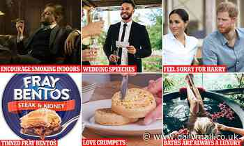 MARK PALMER: Are you posh enough to crave a Fray Bentos steak pie?