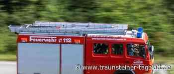 Siegsdorf/A8: Pannenfahrzeug mit Rauchentwicklung löst Feuerwehreinsatz aus - Traunsteiner Tagblatt