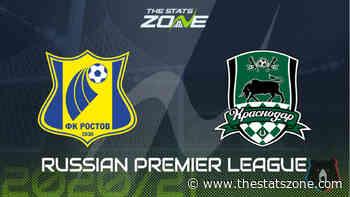 2020-21 Russian Premier League – Rostov vs Krasnodar Preview & Prediction - The Stats Zone