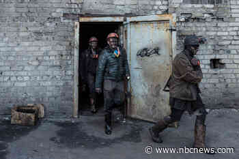 Mines were once the beating heart of eastern Ukraine. Now they are ticking time bomb.