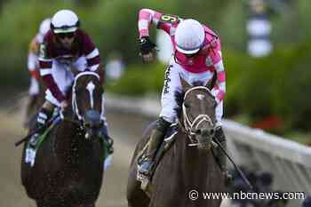 Rombauer wins the 146th Preakness Stakes