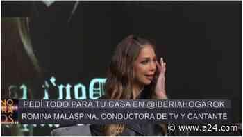 Romina Malaspina se quebró en televisión al ver a su hermana Juli - A24.com