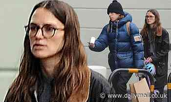 Keira Knightley cuts a casual figure as she steps out with husband James Righton - Daily Mail