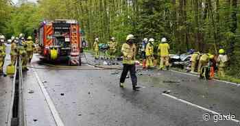 Unfall zwischen Siegburg und Lohmar: Golf stößt frontal auf B56 mit anderem Wagen zusammen - ga.de
