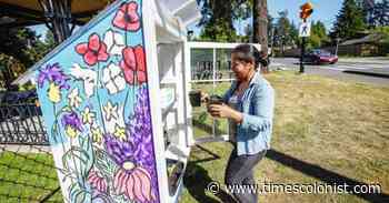 Little Free Plant Stands sprout in Colwood - Times Colonist