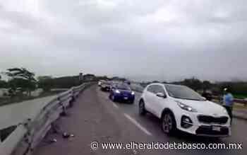 ¡Maneje con cuidado!, accidentes colapsan la Teapa – Vhsa - El Heraldo de Tabasco