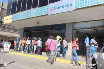 Usuarios reportan retraso en las entidades bancarias de Turmero y Cagua - Diario El Siglo