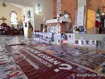 """Caravana de búsqueda arranca con misa en San Luis de la Paz, """"es más pacífico"""" - Zona Franca"""