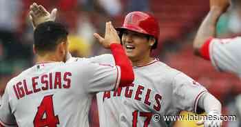 Mike Trout's bloop, Shohei Ohtani's blast power Angels to comeback victory