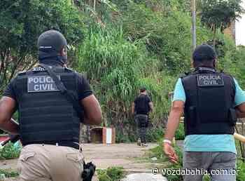 Paulo Afonso: Homem acusado de matar e incinerar vitimas é preso - Voz da Bahia