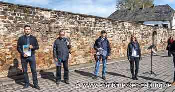 Freiluftausstellung Wadgassen Klostermauer Stille Orte Fotowettbewerb - Saarbrücker Zeitung