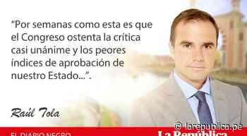 Semana parlamentaria, por Raúl Tola - LaRepública.pe