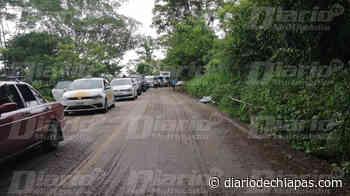 Lenta circulación sobre el tramo Ocosingo-Palenque - Diario de Chiapas