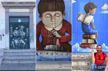 """Casamassima, la street art rende più bella la scuola: """"Portoni preda dei vandali, oggi un simbolo"""" - Borderline24.com"""
