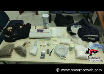 Lotta allo spaccio di stupefacenti, 24enne arrestato - Soverato Web