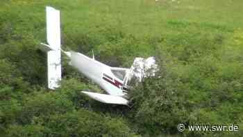 Flugzeug bei Bad Sobernheim abgestürzt - SWR