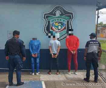 Aprehenden a tres hombres por robo en La Mitra de La Chorrera - Metro Libre