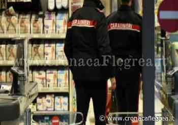 Ladro seriale arrestato a Varcaturo: aveva colpito due supermercati in pochi giorni - Cronaca Flegrea