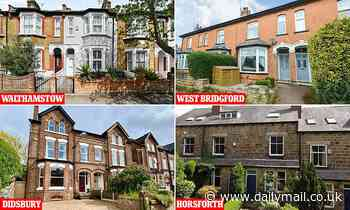 Top 10 areas for hunting home buyers revealed with Didsbury top - Daily Mail