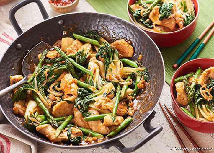 Amazing Asparagus and BoK Choy Stir-Fry