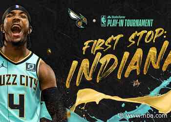 Hornets to Play Pacers on Tuesday, May 18 in 2021 State Farm NBA Play-In Tournament