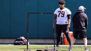 Bengals' Jackson Carman modeling game after Quenton Nelson, Zack Martin - Bengals Wire