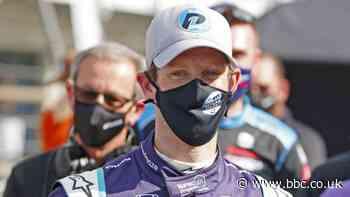 Romain Grosjean claims first IndyCar pole position