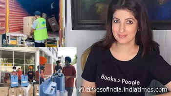 COVID-19 crisis: Twinkle Khanna announces distribution of another lot of oxygen concentrators among patients in Punjab and Delhi