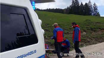 Grassau: Von Marquartstein aus gestartet: Wanderer mit Kreislaufschwäche beim Abstieg - chiemgau24.de