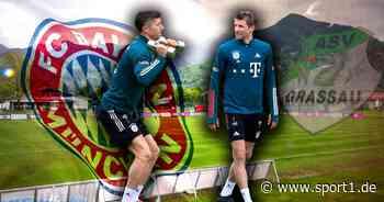 FC Bayern: FCB in Quarantäne in Grassau - mit Spielerfrauen und Golftasche - SPORT1