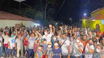 Gran recibimiento a Chago Salazar en La Pedrera - La Voz De Tantoyuca