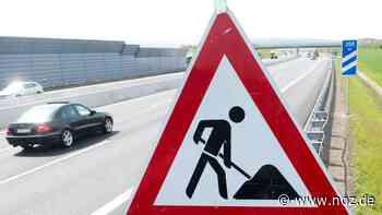 Einspurige Verkehrsführung: Baustelle auf der A1 zwischen Lohne/Dinklage und Bramsche - NOZ