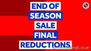 🛍 Final reductions for 2020-21 at our Fanstore…