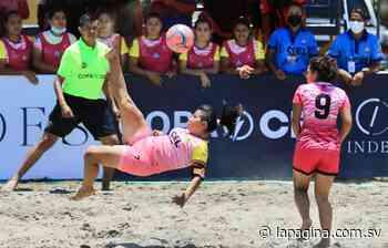 El Espino y Corral de Mulas iniciaron con triunfos en Liga de Fútbol Playa femenina - Diario La Página