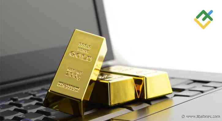 Gold reached green zone. Forecast as of 17.05.2021