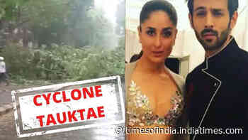 From Kareena Kapoor to Kartik Aaryan, Bollywood celebs urge fans to stay indoors as cyclone Tauktae intensifies