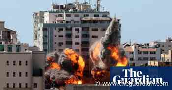 Israel strike in Gaza destroys Al Jazeera and other media offices – video