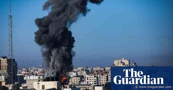 Israeli fighter jets hit targets in central Gaza as fight with Hamas escalates – video