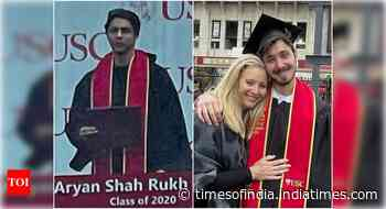 SRK's son, Lisa Kudrow's son studied together