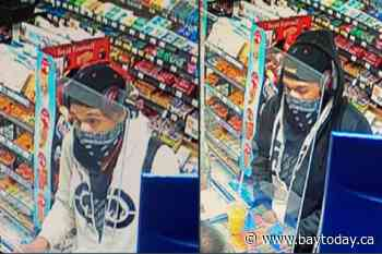 Police seeking robbery suspect this morning