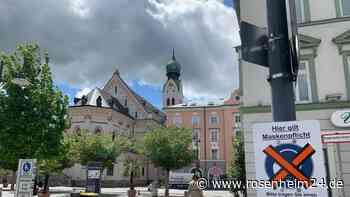 Maskenpflicht in Rosenheim ab Montag (17. Mai) aufgehoben - ab Dienstag Öffnungsschritte für Einzelhandel