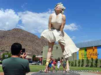 Backlash against giant Marilyn Monroe statue for 'forcing upskirting'