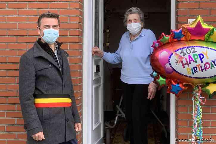 Bierbeek viert verjaardag van Maria Coopmans (102)