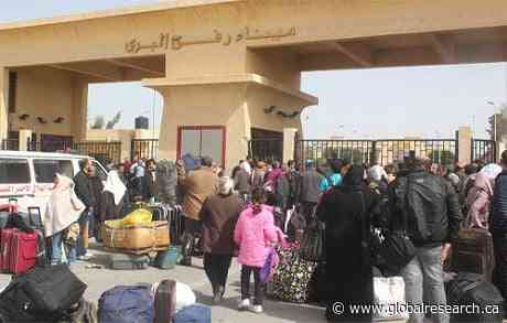 Egypt Opens Rafah Crossing with Gaza Strip to Receive Palestinians Injured in Israeli Aggression