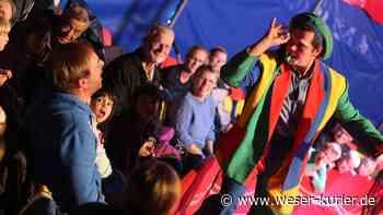 Kamele, Clowns und ein Feuerfakir machen in Beverstedt Station - WESER-KURIER - WESER-KURIER online
