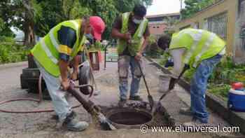 Aragua: Alcaldía de Girardot ejecutó nivelación de 17 bocas de visita en el municipio - El Universal (Venezuela)
